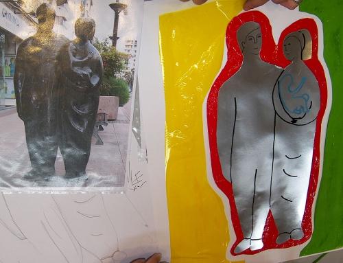 Descubriendo las esculturas de Logroño